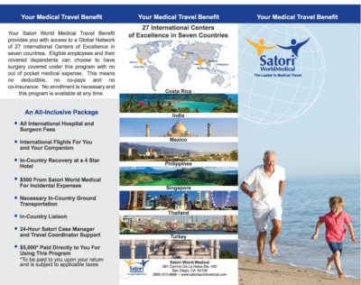 Brochure Design for San Diego Company Satori World Medical