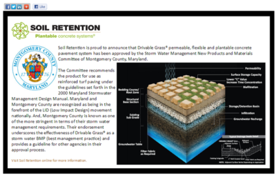 Advertising Design for Carlsbad Company Soil Retention