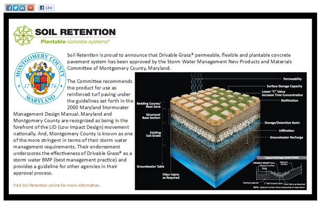 Advertising Design for Carlsbad Company Soil Retention
