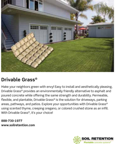 Ad Design For Soil Retention - Carlsbad CA Company