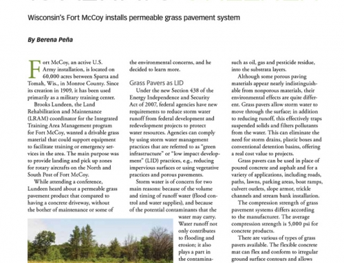 Copywriting Article – Storm Water Solutions Magazine For Soil Retention