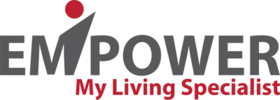 Custom Logo Design For Los Angeles Company Empower My Living Specialist