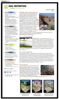 Email Newsletter for Carlsbad Company Soil Retention