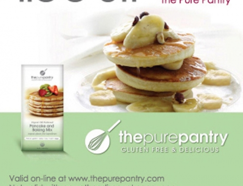 Graphic Design Advertisement for Online and Print – The Pure Pantry