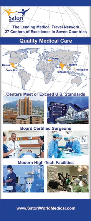 Trade Show Panel Design, Layout and Printing For Satori World Medical